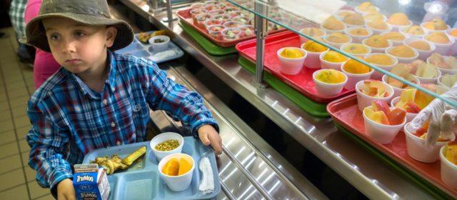 Feeding Children in Local Public Schools on May 16